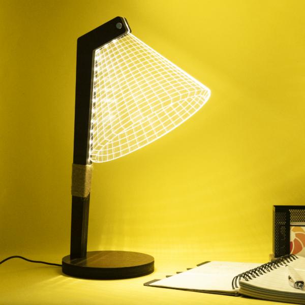 Mr L - A 3D Illusion Lamp On