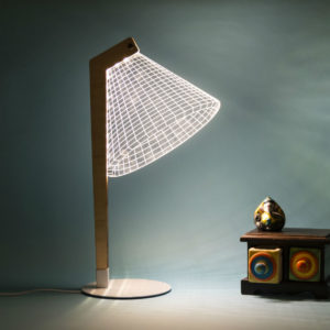 Mr. R - A 3D Table Lamp On