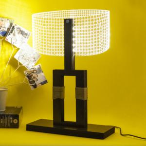 Mr V 3D Table Lamp On