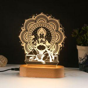 Ganesha Hologram Lamp