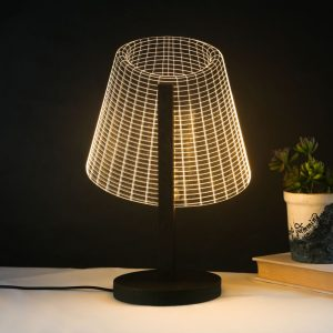 Miss T – A 3D Bedside Table Lamp