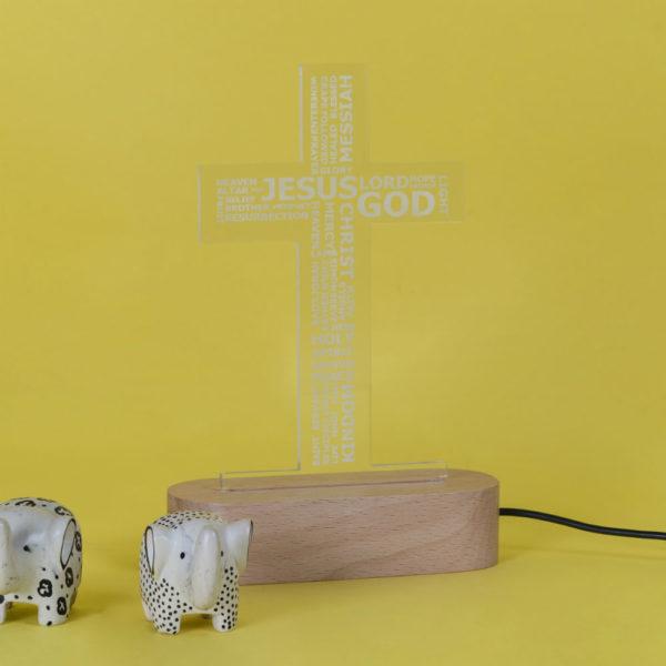 Cross Lamp Off