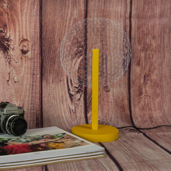 Mr I Yellow Table Lamp OFF