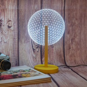 Mr I Yellow Table Lamp