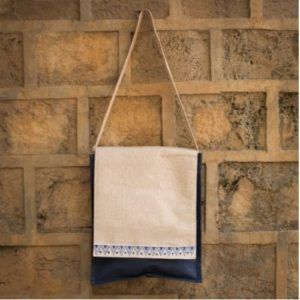 Canvas Vertical Laptop Bag