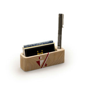 Card cum pen holder