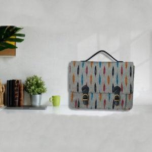 Ikat Laptop Bag Double Buckle Unisex - Multicolour